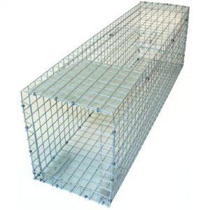 Trådfælde til mink og mår. 77 cm