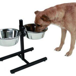 Skålestativ just.bar -til hunde madskål og vandskål
