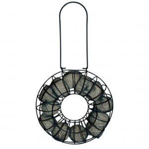 Fuglefoder automat til mejsebolde - cirkel
