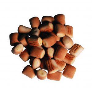 Stak hundegodbidder, marvben med fjerkræ, sælges i 1 kg
