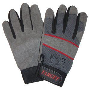 TARGET Handske-Perfekt pasform. Velcroluk