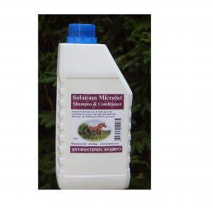 Solanum Antibakteriel shampoo til heste
