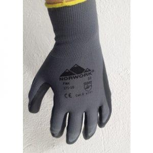 Handske Norwork Flex-grå flex handske i høj kvalitet