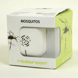 Myggeskræmmer R-102-hvid plastik- ultralydsfrekvenser, som tvinger myggen væk