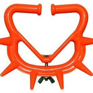 Pattebøjle nylon stor orange, til kalve der sutter