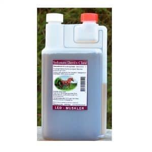 Solanum Devils Claw- tilskud i doseringsflaske