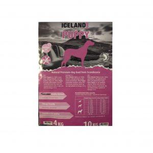 4 kg hvalpefoder fra Iceland Puppy