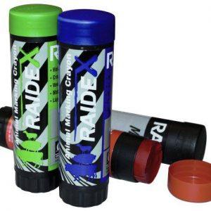 Mærkekridt Raidl plast.-grøn, blå, rød og sort
