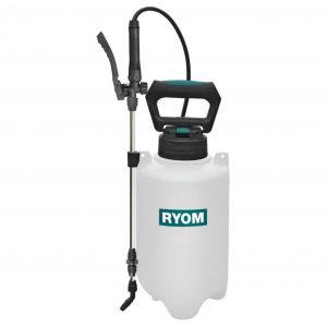 Hvid tryksprøjte fra Ryom 5 ltr.