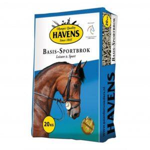 Blå sæk med havens hestefoder, sport