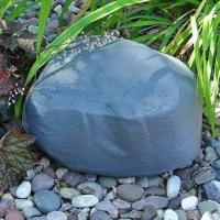 Rottefoderstation Protecta Evo Landscape-rottefoderstation udformet som en grå sten