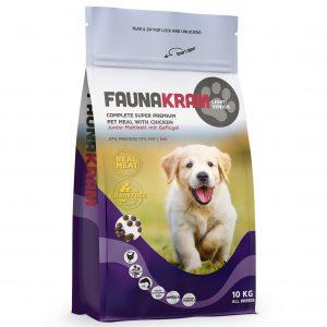 Faunakram til junior hunde- 10 kg