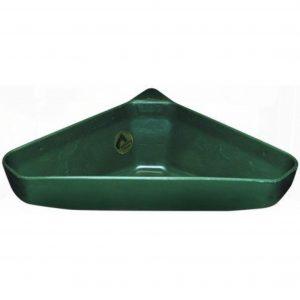 Grøn hjørnekrybbe til 21 liter