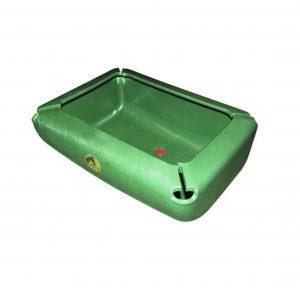 Grøn foderkrybbe til 17 liter
