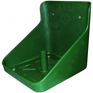 grøn slikstensholder til 10 kg sliksten
