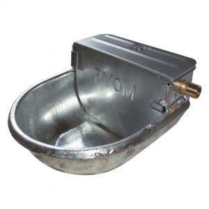 Drikkekar i galvaniseret i stål til køer og får