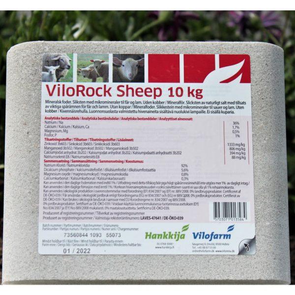 sliksten 10 kg, til får, uden kobber